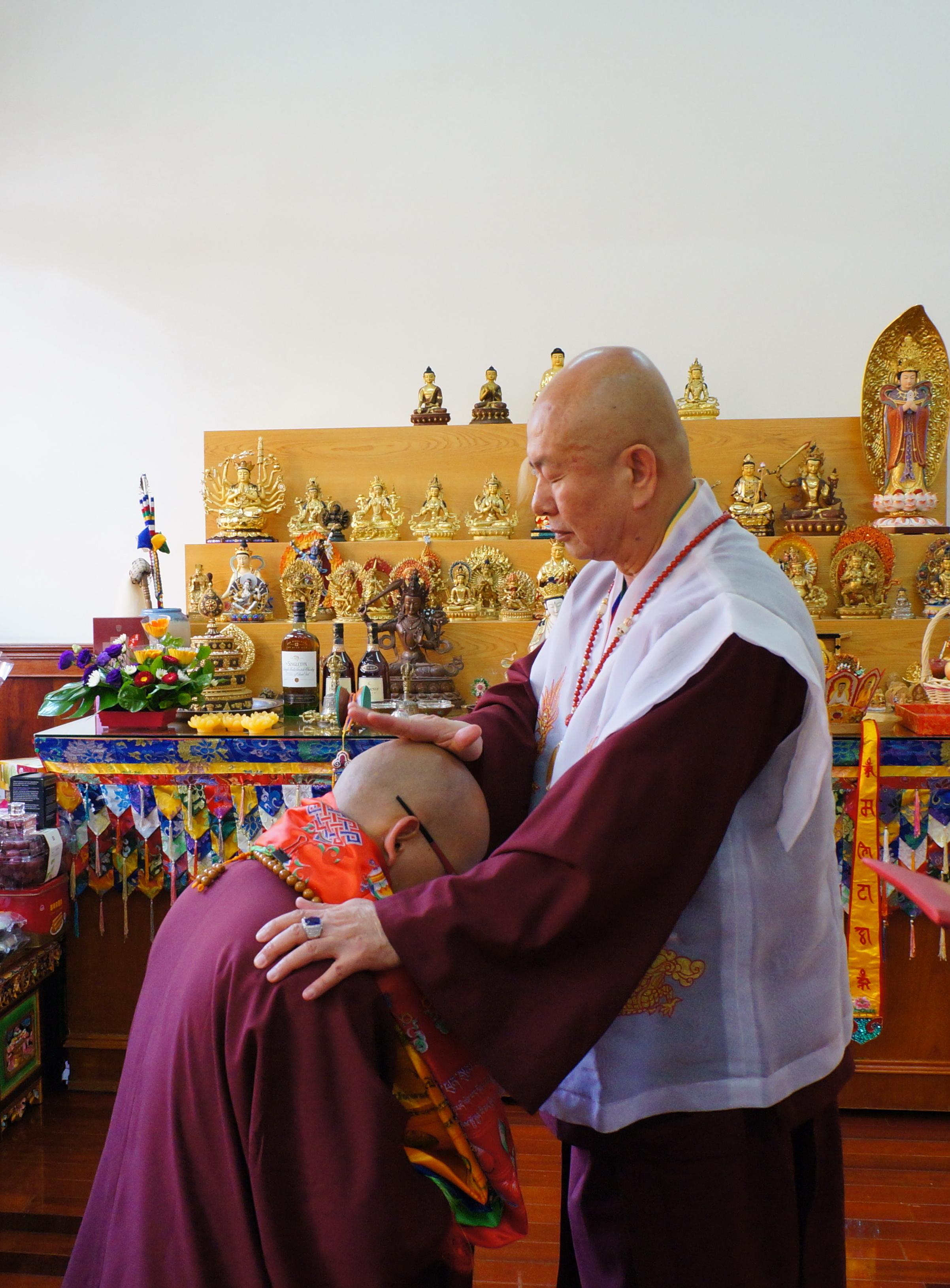 Grand Master Lu dan Master Lian Pu