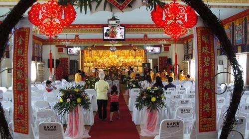 Dekorasi Ruang Pemberkatan Pernikahan