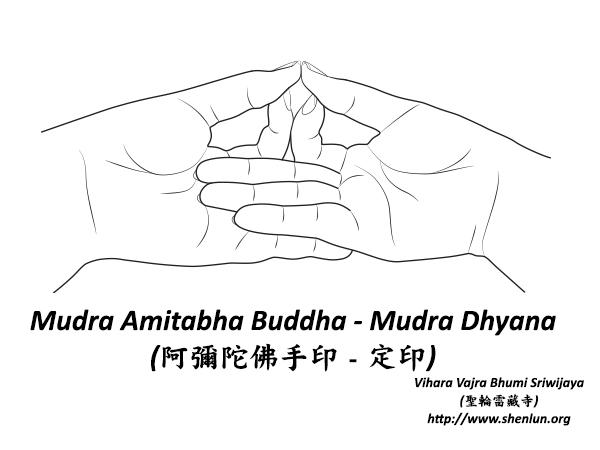 mudra amitabha Mudra   手印