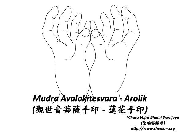 mudra avalokitesvara Mudra   手印