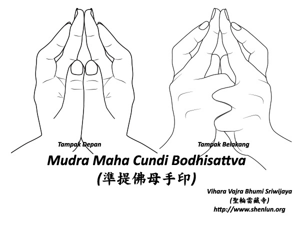 mudra cundi Video Mudra Maha Cundi   大準提佛母手印