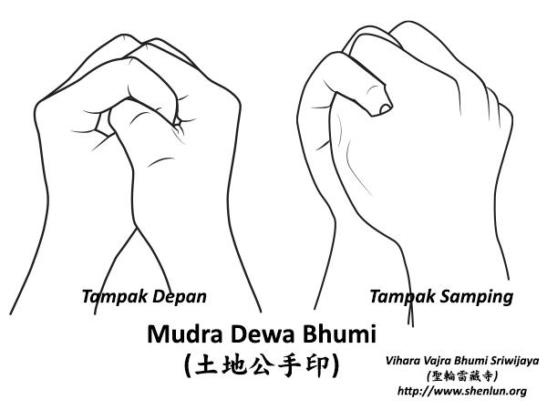 mudra dewa bhumi Mudra   手印