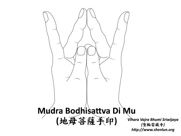 Mudra Bodhisattva Di Mu