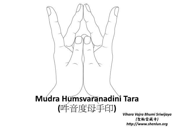Mudra Humsvaranadini Tara