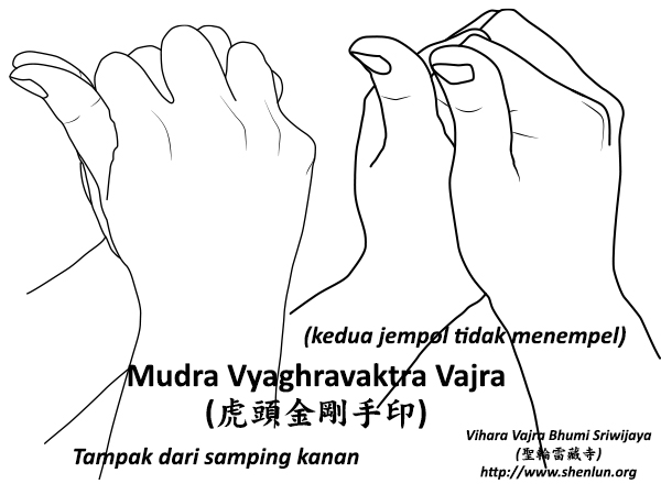 Video Mudra Vyaghravaktra Vajra