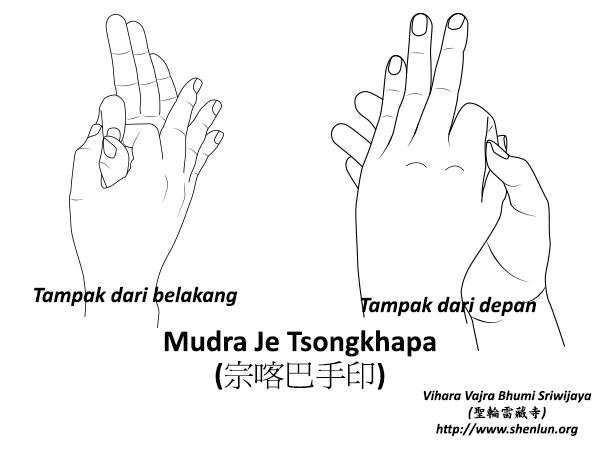 Mudra Je Tsongkhapa