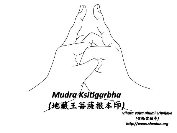 Mudra ksitigarbha