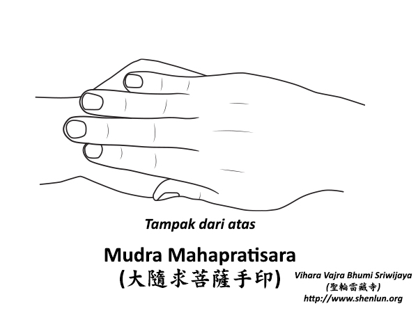 Mudra Mahapratisara Bodhisattva