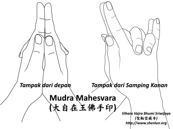 Video Mudra Mahesvararaja Buddha