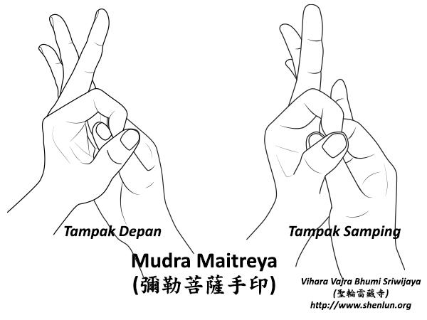 Mudra Maitreya Bodhisattva