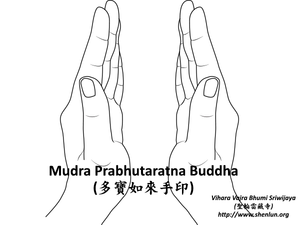 Mudra Prabhutaratna Buddha