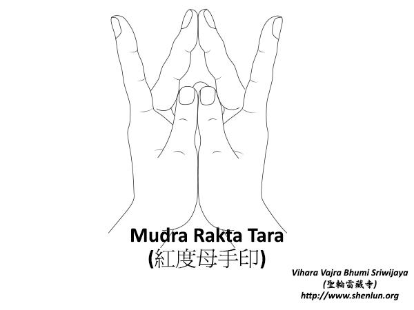 Mudra Rakta Tara