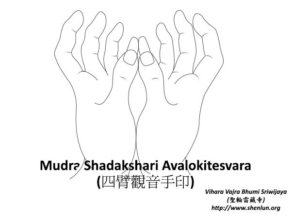 Mudra Shadakshari Avalokitesvara
