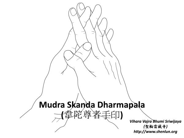Mudra Skanda Dharmapala