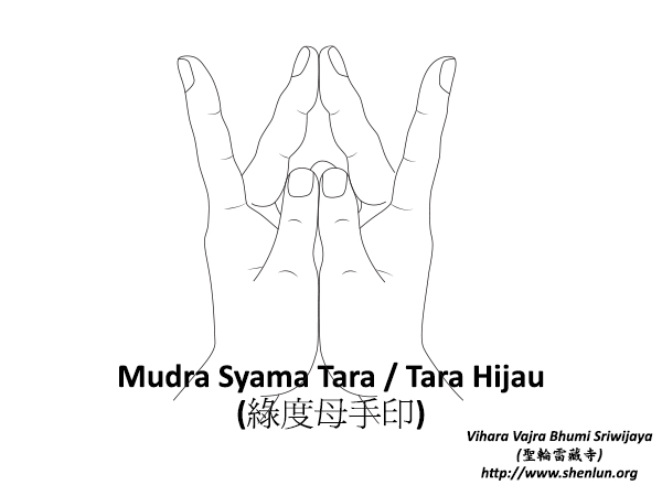 Mudra Syama Tara
