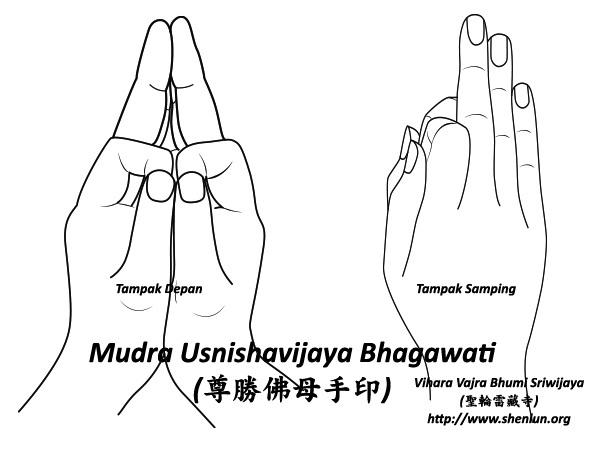 Mudra Usnishavijaya Bhagawati