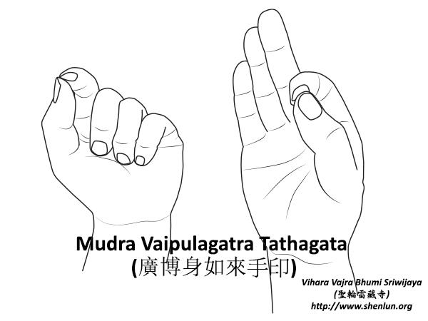 Mudra Vaipulagatra Tathagata
