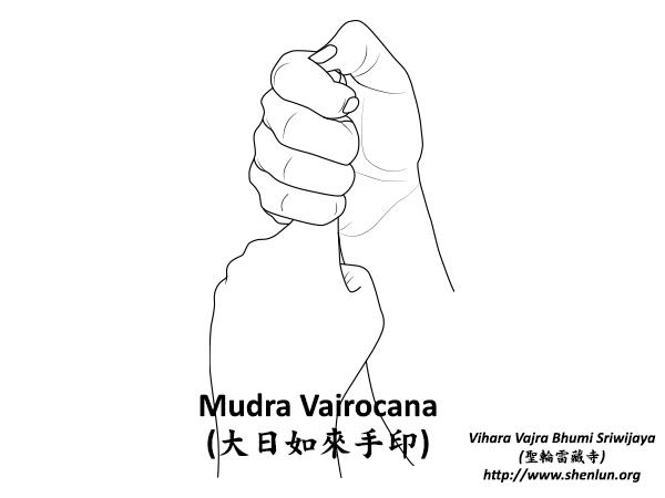 Mudra Vairocana