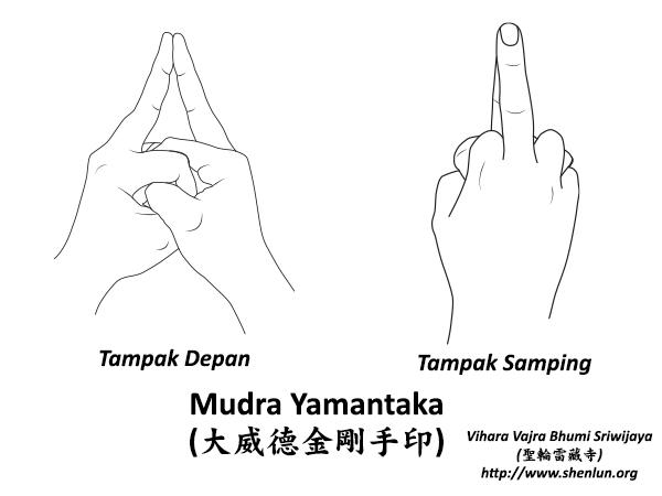 Mudra Yamantaka