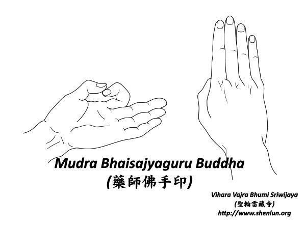 Mudra Bhaisajyaguru Buddha